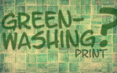 Umweltindex Druck Grün ist nicht gleich Grün