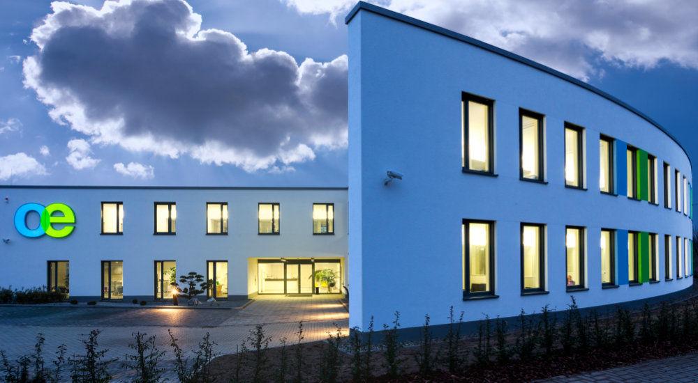 Oeding-Print-Umweltfreundliches Gebäude