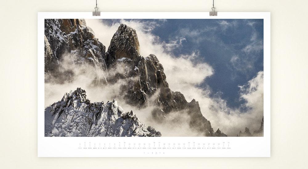 Blauer Engel-zertifizierter Wandkalender