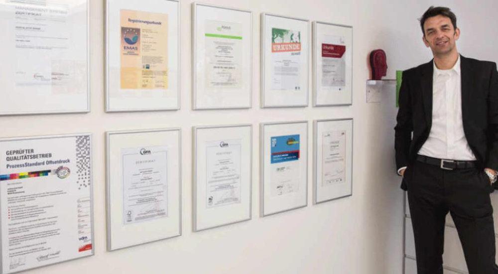 Roland Makulla, Umweltmanager oeding print GmbH