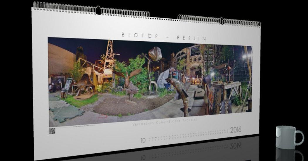 Biotop, nachhaltiger Kalender
