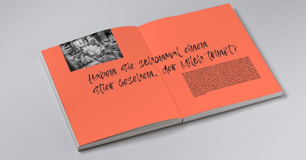 Umweltfreundlich gedrucktes Kochbuch