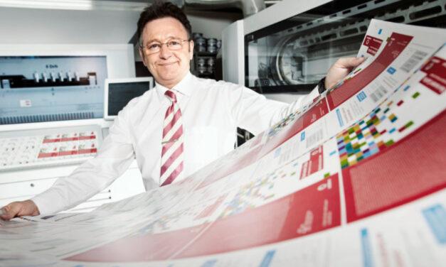 Geschäftsführer, Druckstudio GmbH, Werner Drechsler