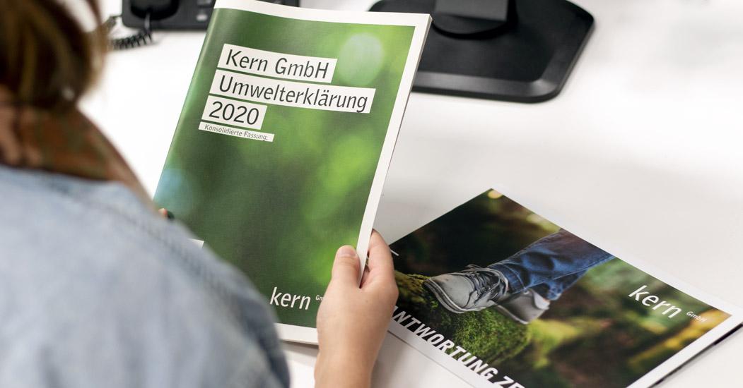 Umweltbericht Druckerei Kern