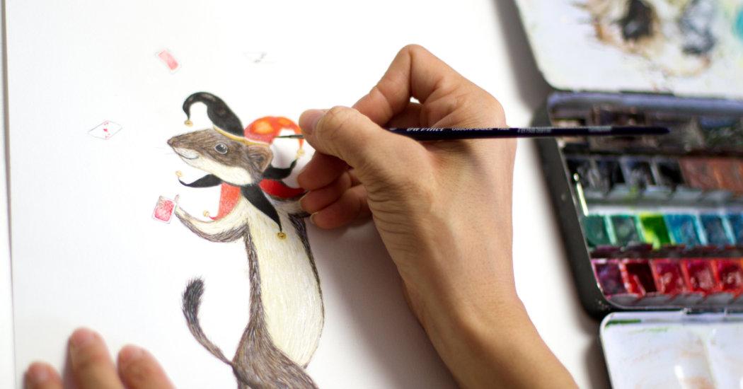 Illustration Brigitte Baldrian