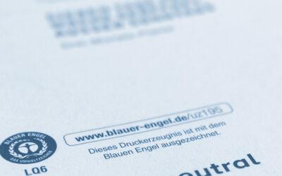 Blauer Engel: Dynamischer Umweltschutz Warum der Blaue Engel Flügel verleiht!