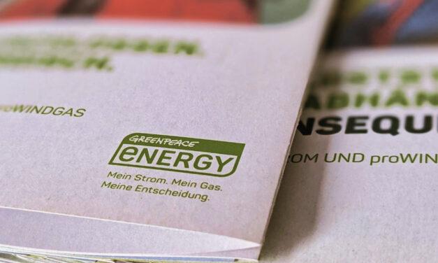 Greenpeace Energy Prospekt
