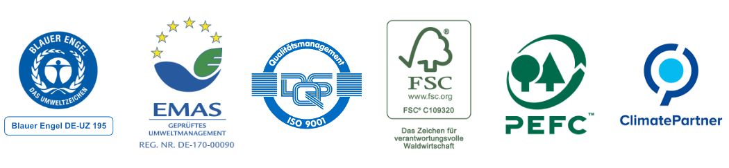 Umweltseite Druckerei Langebartels in Hamburg