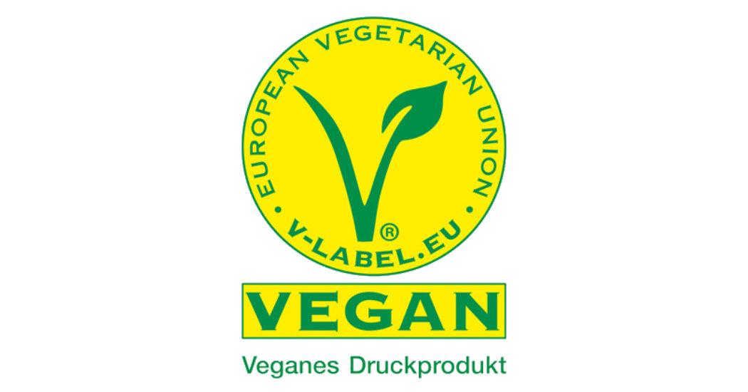 Vegane Drucksachen