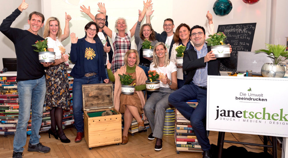 ERDEDANKfest, Druckerei Janetschek