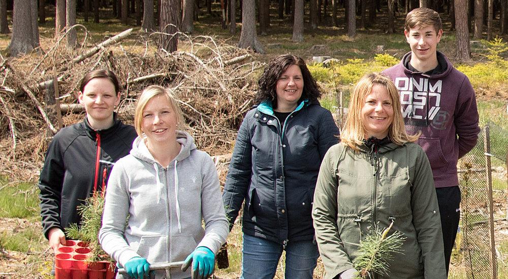 Aufforstungsprojekt Waldsetzen.jetzt, Druckerei Janetschek