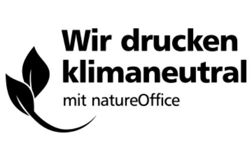 Klimaneutral drucken mit Druckerei F & W
