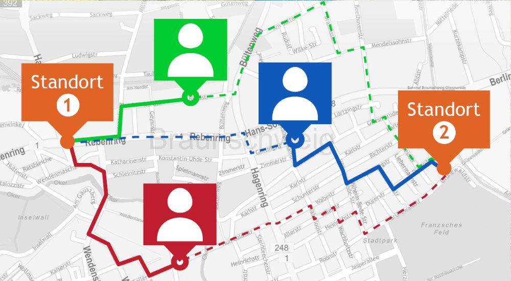 Geodatenmarketing, Adresszuweisung