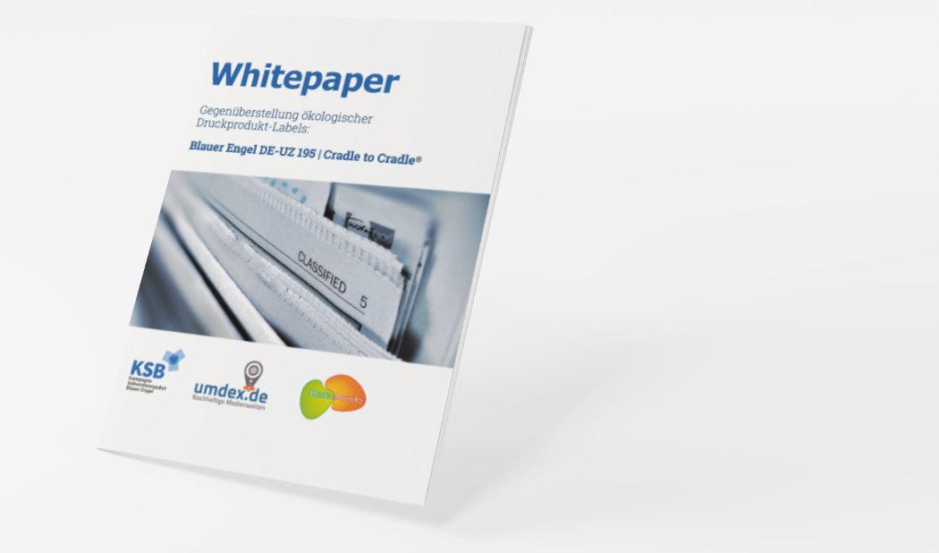 Whitepaper, Studie Cradle to Cradle, Blauer Engel