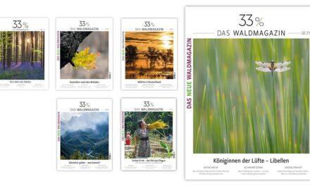 <p><span style='font-size:18px;'>Klimaschonung</span> <br />33% Wald  ‒ ein waldfreundlich gedrucktes Magazin </span></p>