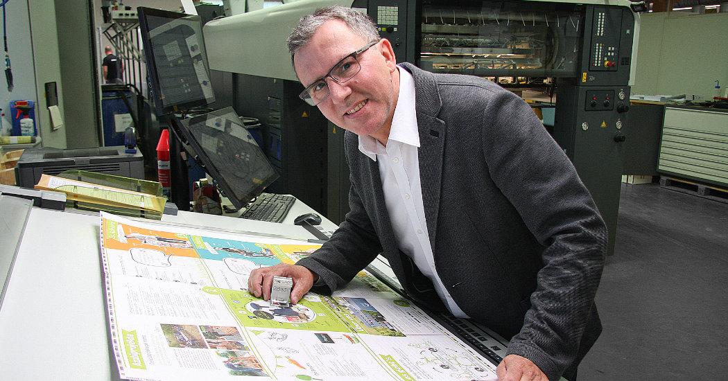 Dieter Körner, Geschäftsführer bonitasprint gmbh