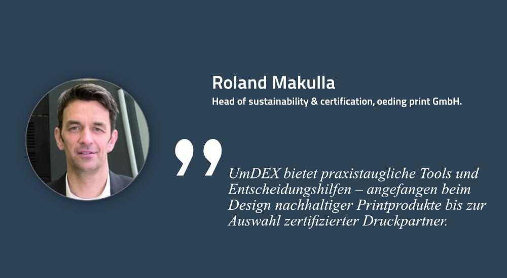Roland Makulla, oeding print GmbH