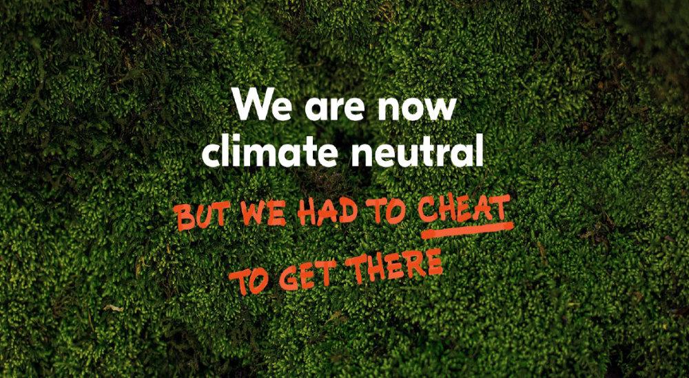 Klimaneutral, Abmahnung