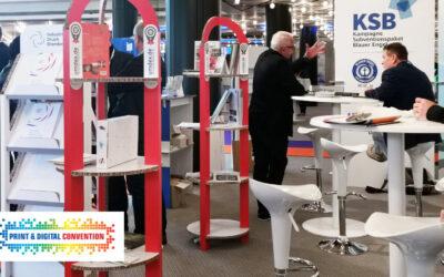 UmDEX-Messestand auf der Print & Digital-Convention
